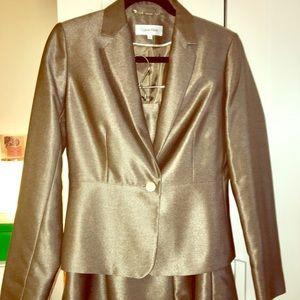 Calvin Klein 2 piece women's Suit Skirt/Jacket